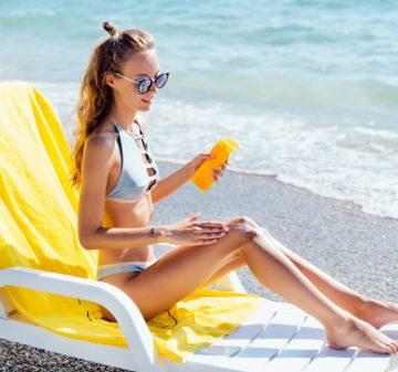 Crème solaire ; protection pour la peau tous les jours de l'année