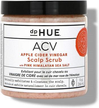 gommage du cuir chevelu au vinaigre de cidre de pomme DpHUE