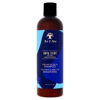 Shampooing As I Am à l'huile d'olive et à l'arbre à thé