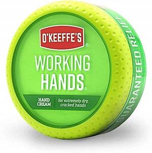 la crème pour les mains Working Hands d'O'Keeffe