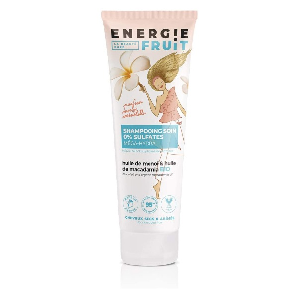 Energie Fruit Shampooing monoï et huile de macadamia bio