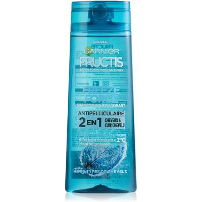 Garnier Fructis Freeze Force Shampooing 2 en 1 Antipelliculaire