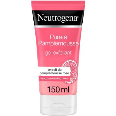 Neutrogena Gel Nettoyant Exfoliant Visage, Pamplemousse Rose